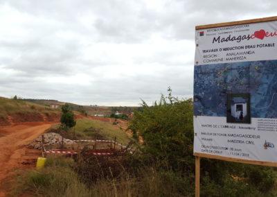 Annonce de chantier à Antsongosongo