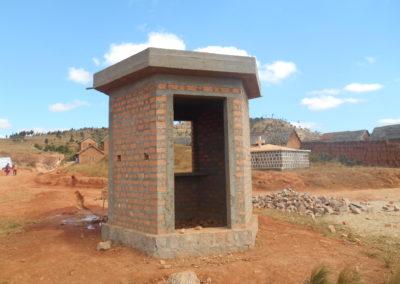 Structure d'une borne fontaine