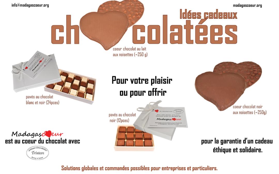 COMMANDEZ VOTRE CHOCOLAT
