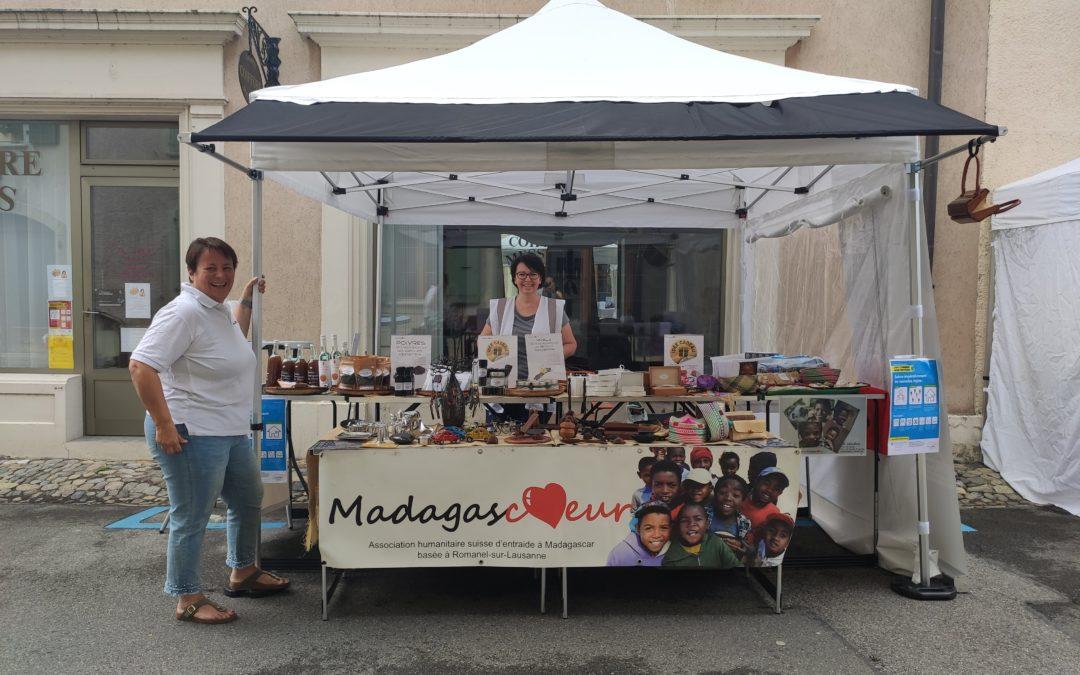 MADAGASCOEUR FAIT SON MARCHÉ: ST.-PREX, DIMANCHE 28 JUIN 2020